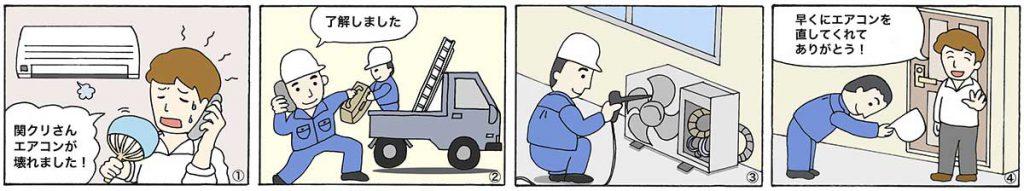 漫画施工の流れ01