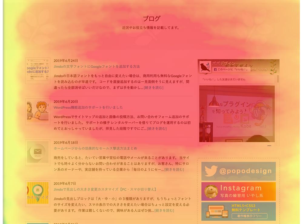 ヒートマップ解析ブログ部分